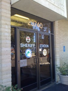 Santa Clarita Sheriff Station and Jail. Photo credit, Adventure Bail Bonds