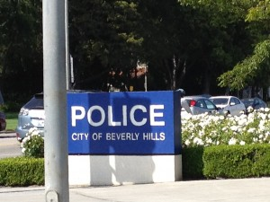 Beverly Hills Police Department.