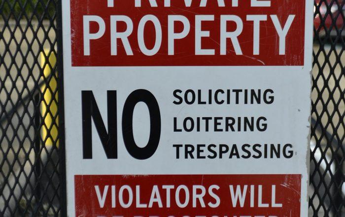 Man Caught Trespassing in Santa Barbara